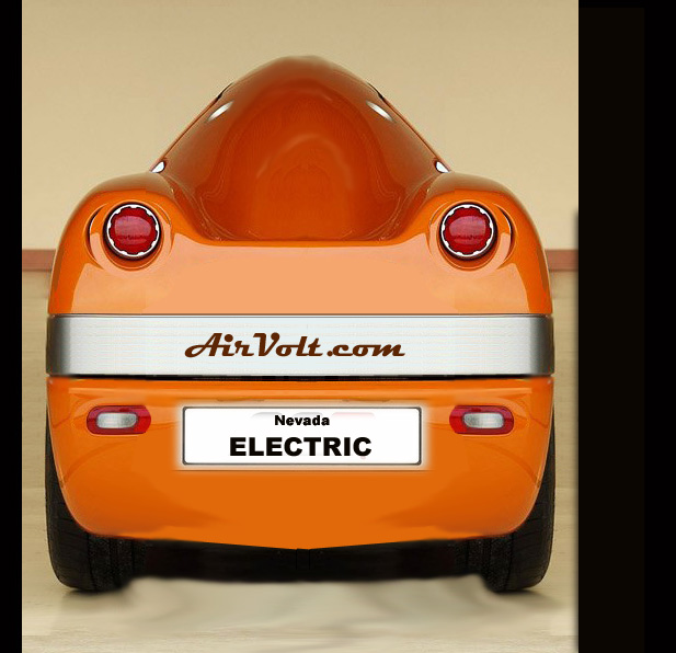 Battery Powered Electric Motorcycle by AirVolt.com